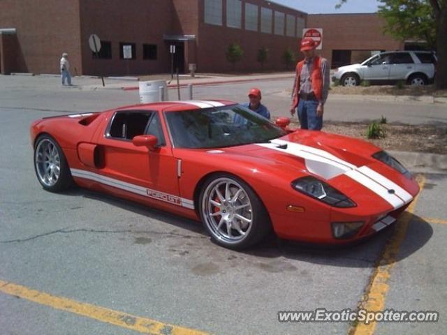 Ford Gt Spotted In Lincoln Nebraska