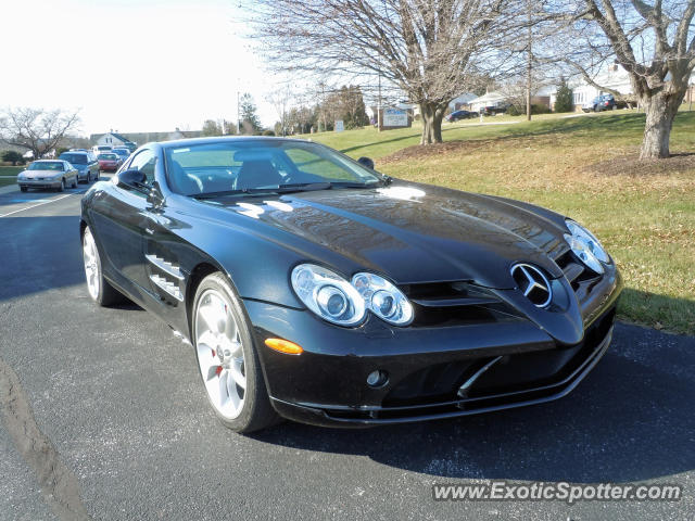 Mercedes slr spotted in york pennsylvania on 01 20 2013 for Mercedes benz york pa