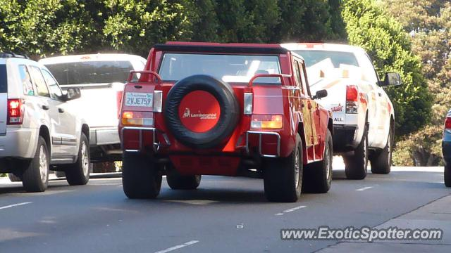 Lamborghini LM002 spotted in San Francisco, California