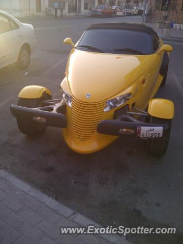 Plymouth Prowler spotted in Doha, Qatar