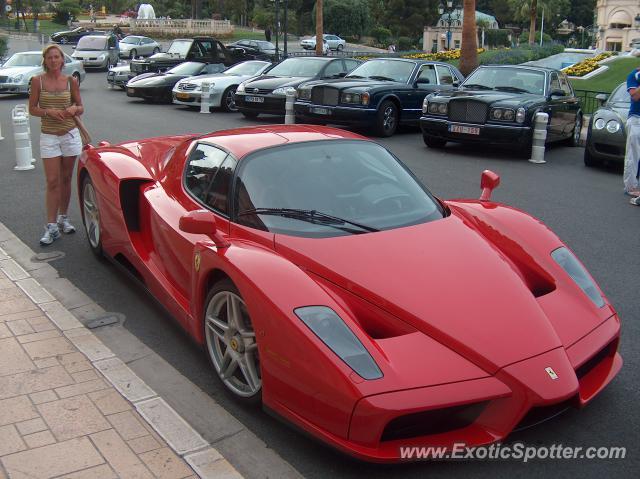Ferrari Enzo Spotted In Monte Carlo Monaco On 07262006