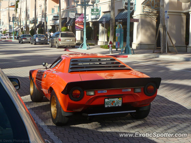 Lancia Stratos spotted in Boca Raton, Florida
