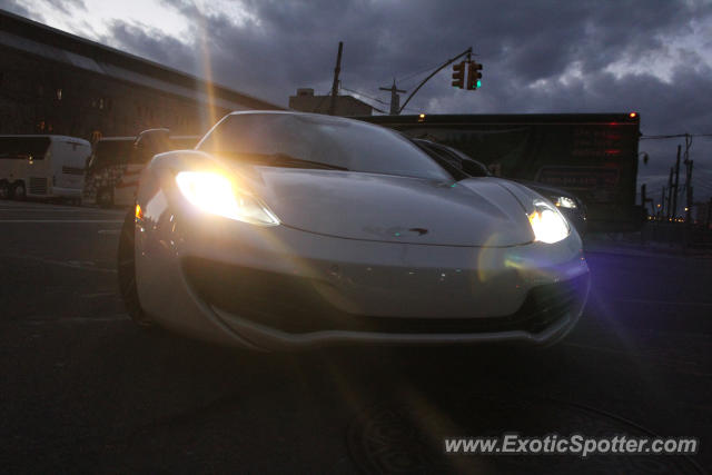 Mclaren MP4-12C spotted in New York, New York