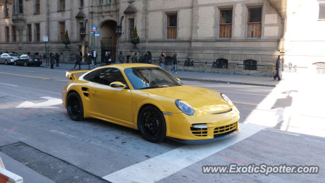 Porsche 911 GT2 spotted in NYC, New York