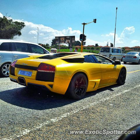 Lamborghini Murcielago spotted in Johannesburg, South Africa