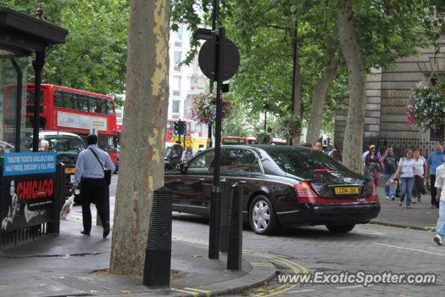 Mercedes Maybach spotted in London, United Kingdom