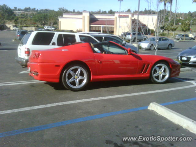 Ferrari 575M spotted in Carmel Valley, California