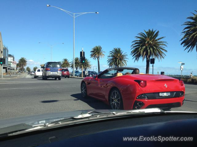 Ferrari California spotted in Melbourne, Australia