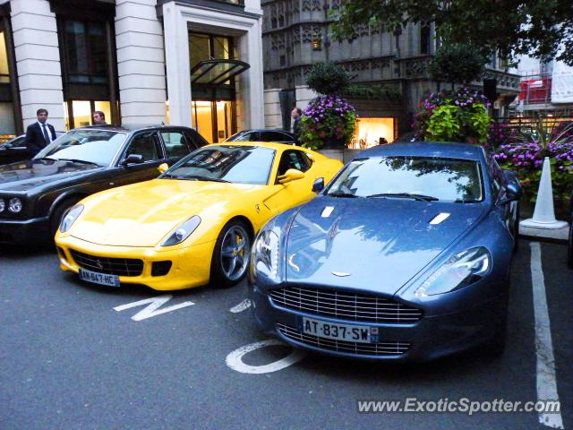 Ferrari 599GTB spotted in London, United Kingdom