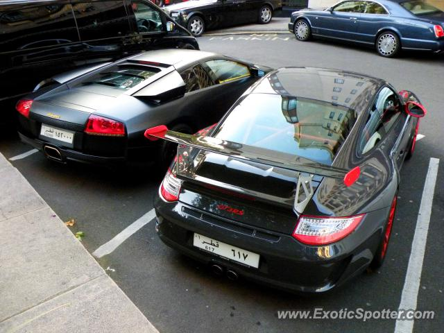 Lamborghini Murcielago spotted in London, United Kingdom