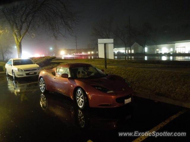Lotus Evora spotted in Barrington, Illinois