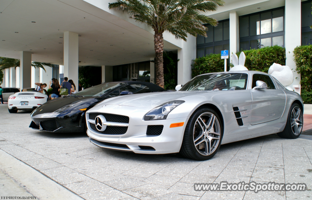Mercedes Of Miami >> Mercedes Sls Amg Spotted In Miami Florida On 12 26 2012 Photo 2