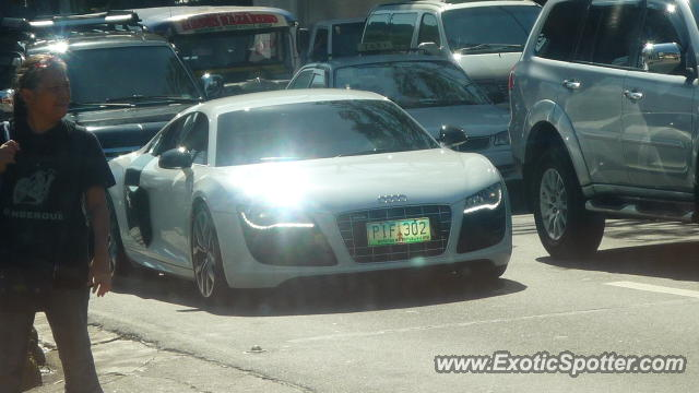 audi r8 spotted in san juan city philippines on 11 24 2012. Black Bedroom Furniture Sets. Home Design Ideas