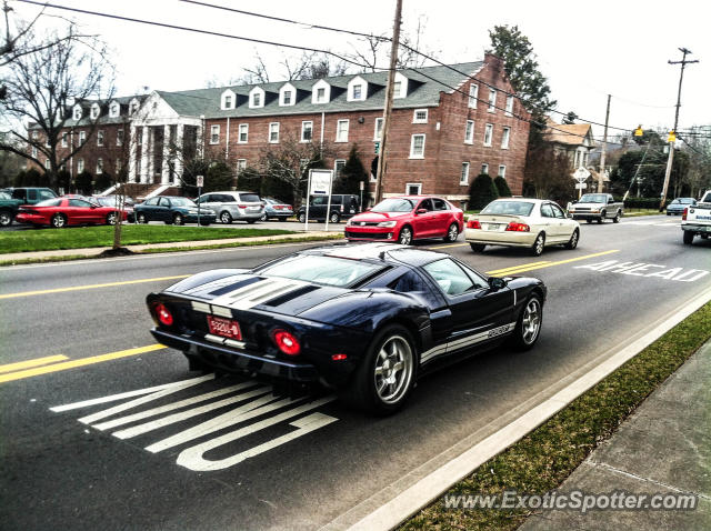 Ford GT spotted in Cleveland, Tennessee