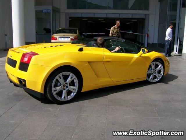 Lamborghini Gallardo Spotted In Johannesburg South Africa