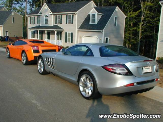 Mercedes slr spotted in richmond virginia on 08 01 2006 for Mercedes benz richmond virginia
