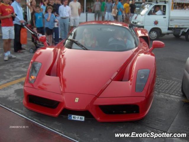 Ferrari Enzo Spotted In Puerto Banus Spain On 08162006