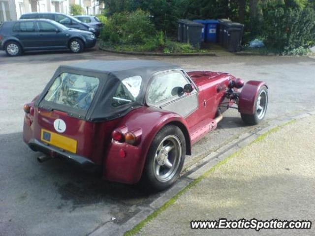 Donkervoort D8 spotted in Bridel, Luxembourg