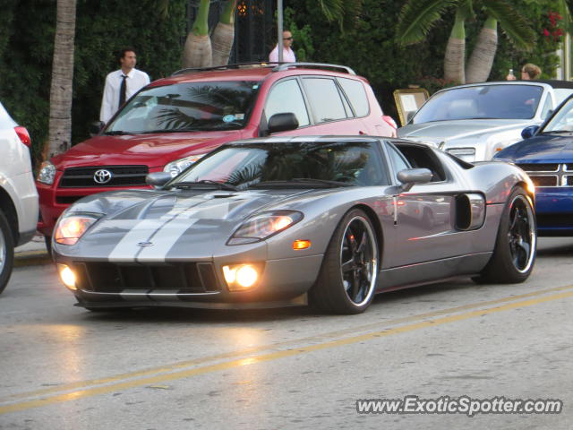 Ford GT spotted in Miami Beach, Florida