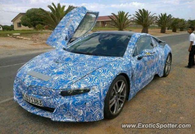 BMW I8 spotted in Strandfontein, South Africa