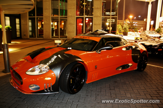 Spyker C8 spotted in Atlanta, Georgia