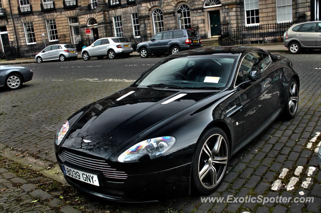 Aston Martin Vantage Spotted In Edinburgh United Kingdom On 02 20 2013