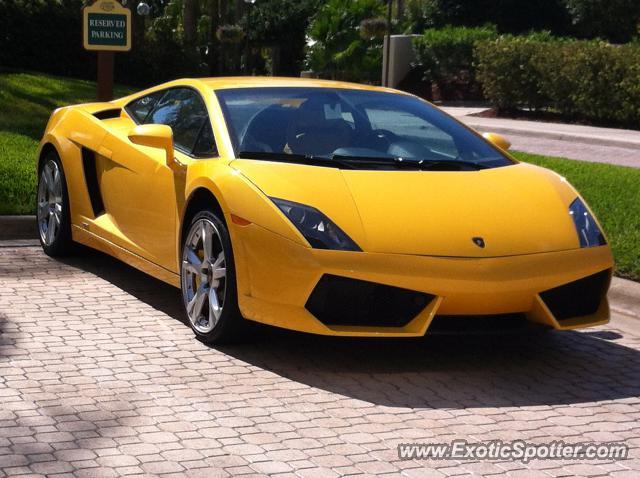 Lamborghini Gallardo Spotted In Orlando Florida On 03 22