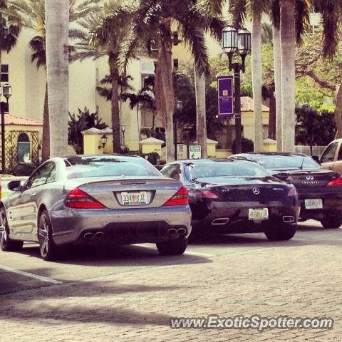 Mercedes SLS AMG spotted in Boca raton, Florida