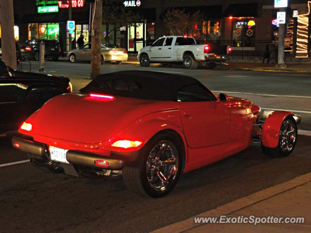 Plymouth Prowler spotted in Newark, Delaware