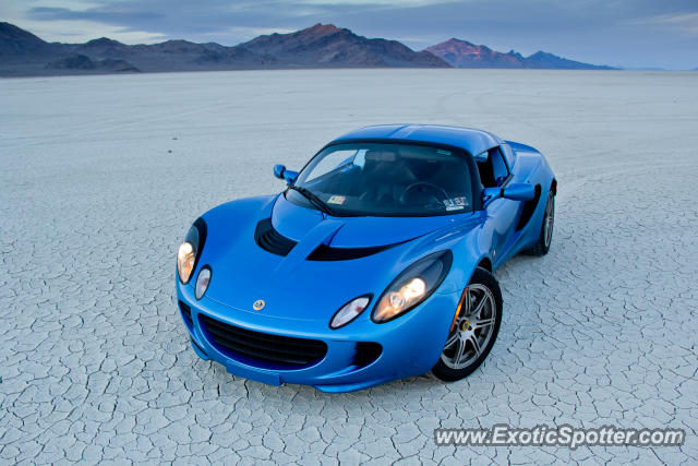Lotus Elise spotted in Bonneville, Utah