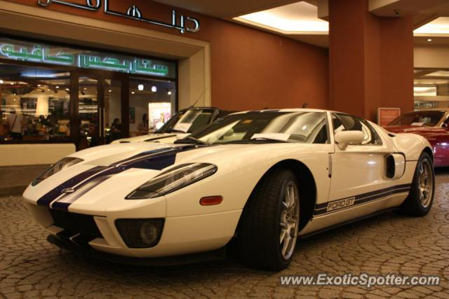 Ford Gt Spotted In Dubai United Arab Emirates