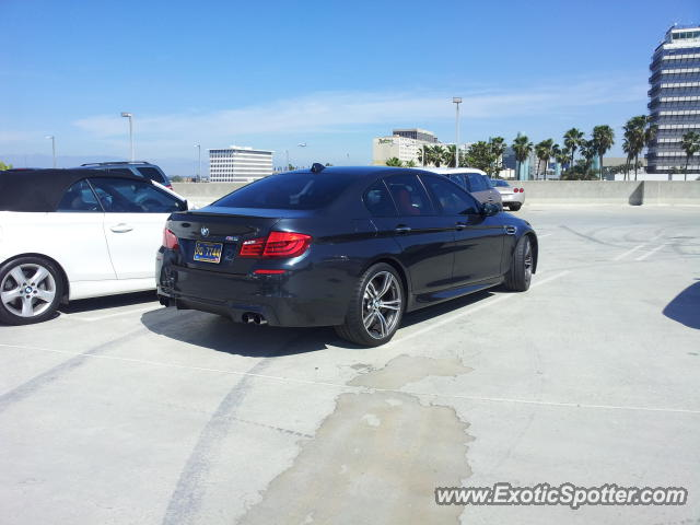 bmw m5 spotted in los angeles california on 03 14 2013. Black Bedroom Furniture Sets. Home Design Ideas