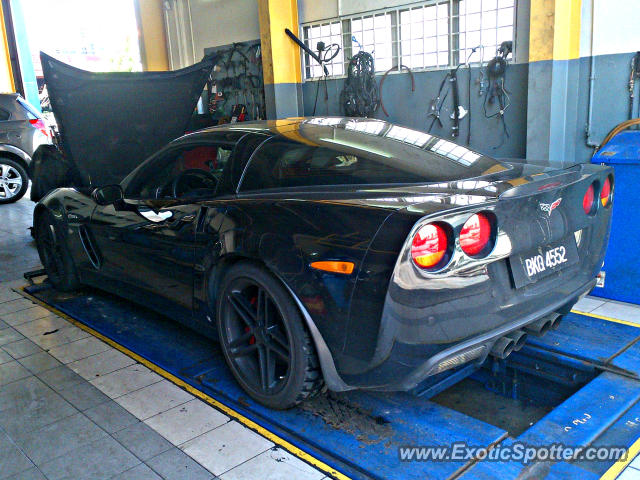 Chevrolet Corvette Z06 Spotted In Subang Jaya Malaysia On 0318