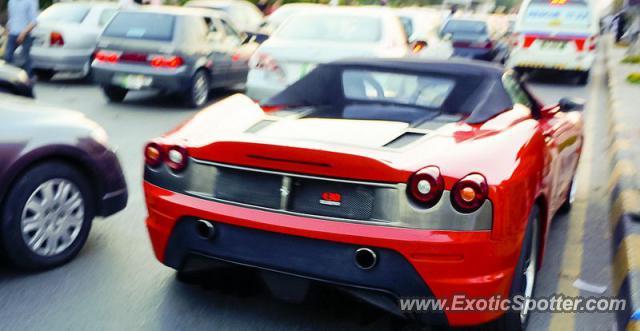 Ferrari F430 Spotted In Lahore, Pakistan
