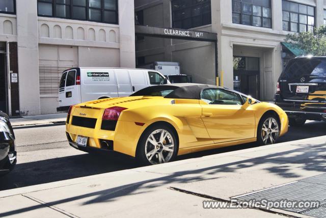 Lamborghini Gallardo Spotted In New York City New York On