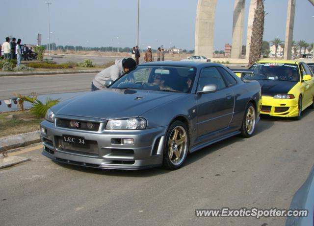 Nissan Skyline Spotted In Lahore, Pakistan