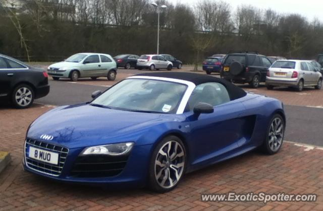 Audi R8 spotted in Tiverton, United Kingdom