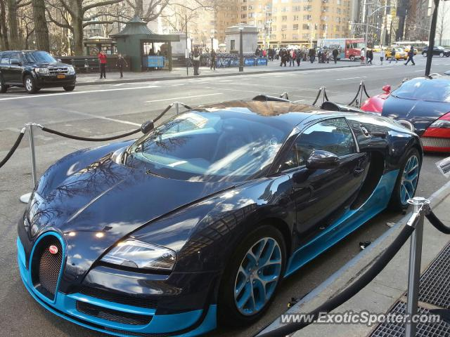 bugatti veyron spotted in nyc new york on 03 27 2013. Black Bedroom Furniture Sets. Home Design Ideas