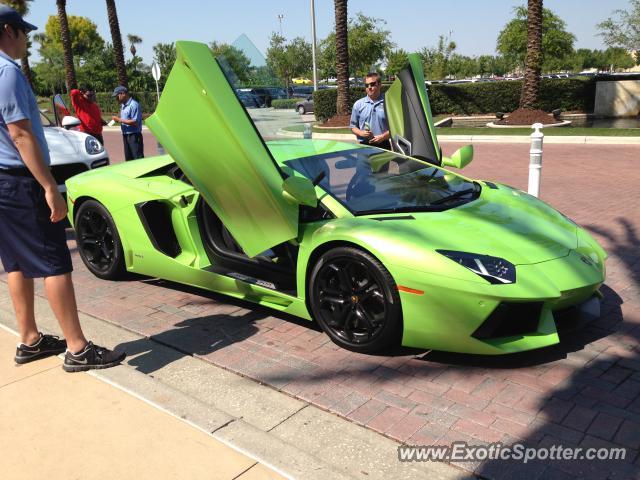 Lamborghini Aventador Spotted In Orlando Florida On 03 28