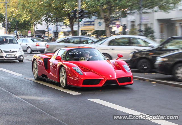 Ferrari Enzo spotted in Berlin, Germany
