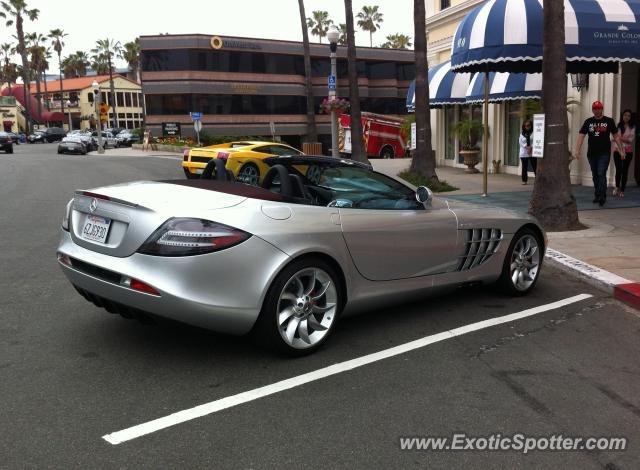 Mercedes slr spotted in la jolla california on 04 08 2013 for Mercedes benz la jolla