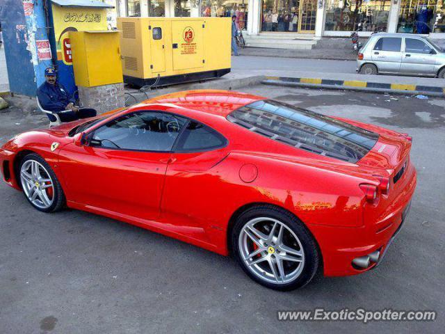 Ferrari F430 Spotted In Faisalabad, Pakistan