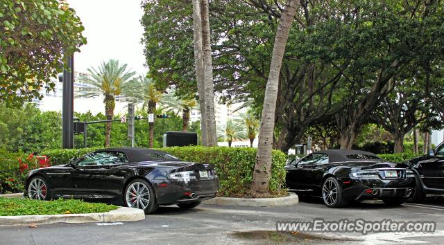 Aston Martin DBS Spotted In Miami Florida On - Aston martin florida